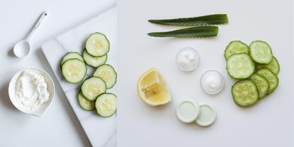 Cucumber Face mask recipe