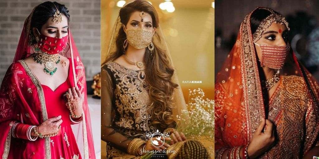 Bridal Face Masks