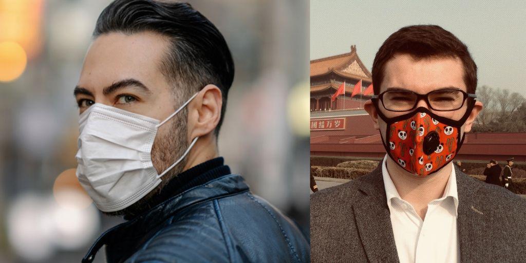 Trendy Men Face Masks