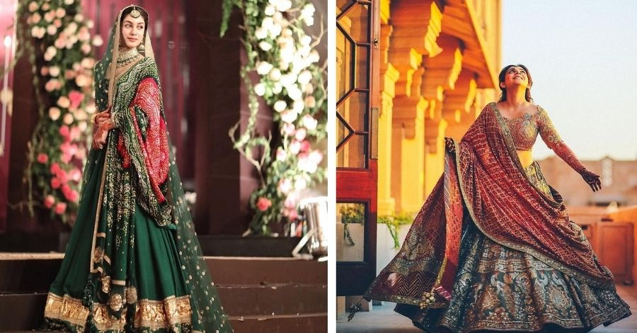 Bandhani prints to elevate your bridal look | STYL Blog