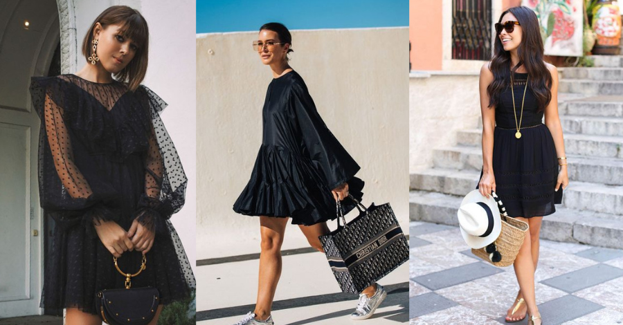 Trending 5 Ways to Style a Little Black Dress or LBD Casually